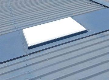 acrylicdome metal roof