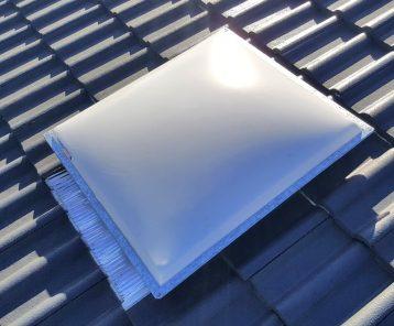 Acrylic Opal Dome Skylight for Tile Roof
