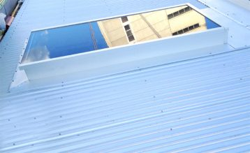 Glass Skylight for Corrugated Roofs