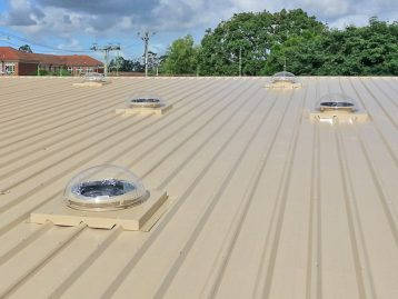Tubelight Kit for Metal Deck Roofs