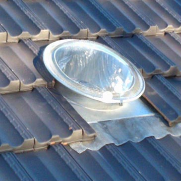 Tubelight Kit for Tile Roofs