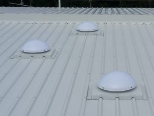 tubelights for metal roofs