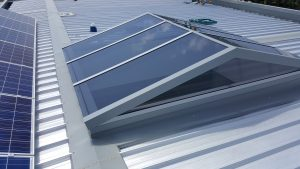 custom vaulted skylights