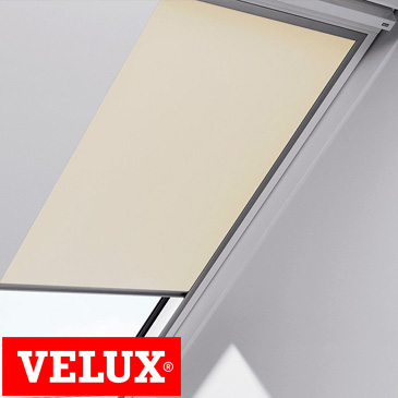 velux manual blockout blind natural lighting products. Black Bedroom Furniture Sets. Home Design Ideas