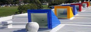Colourful Skylights & Roof Windows