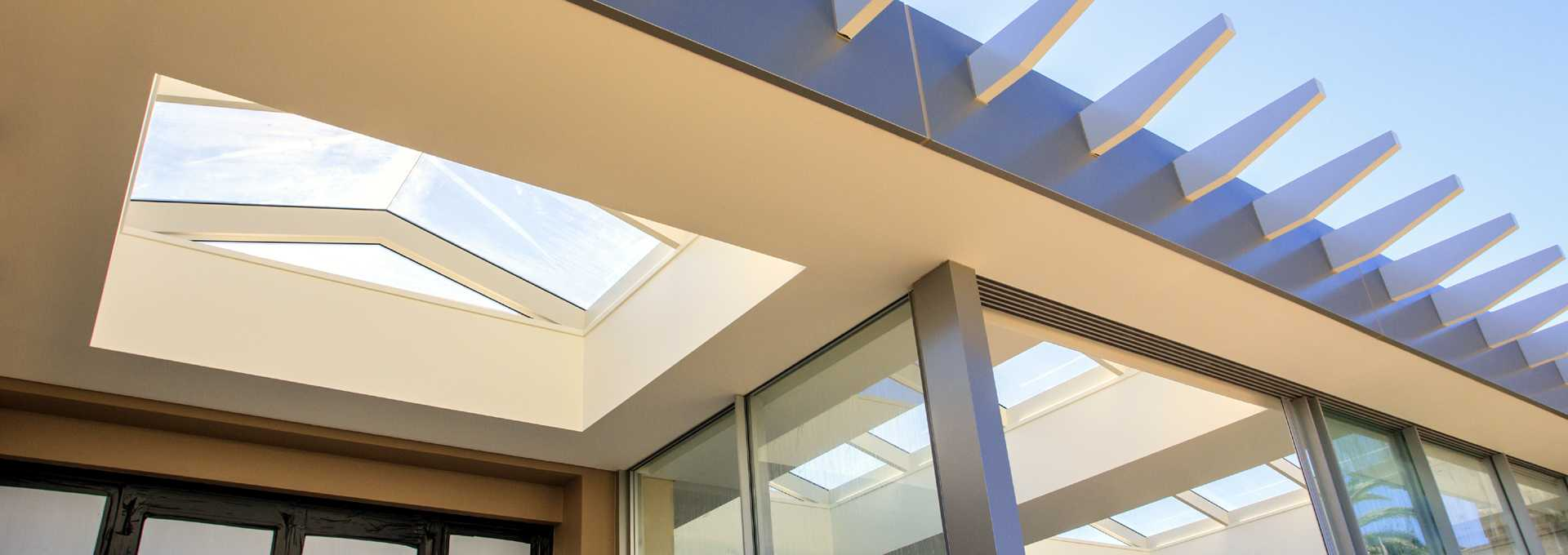 Skylights in a Sydney house