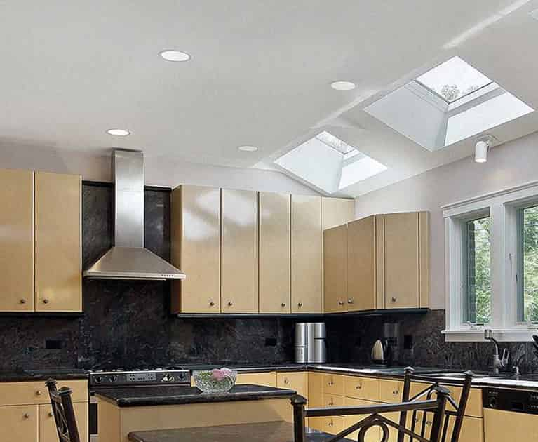 Skylights in a Sydney Kitchen